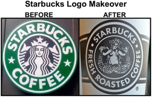 "Oh, you didn't know about the history behind the Starbucks logo? If they're using their cup to say things it is, ""sex sells because in the end we're all just numbed, voyagers in this life who will easily succumb to being lured into disaster. Yep. Now you know."