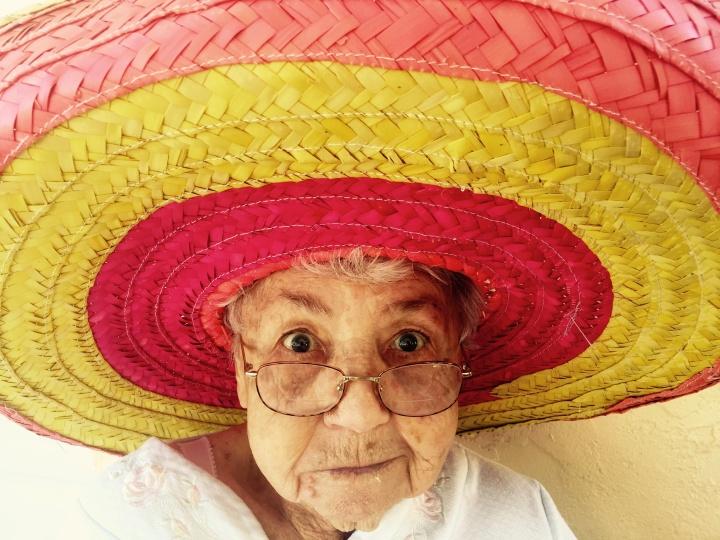 Sombrero lady